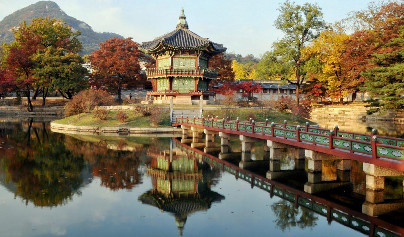 Достопримечательности Южной Кореи в сети