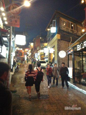 Уровень преступности в Сеуле