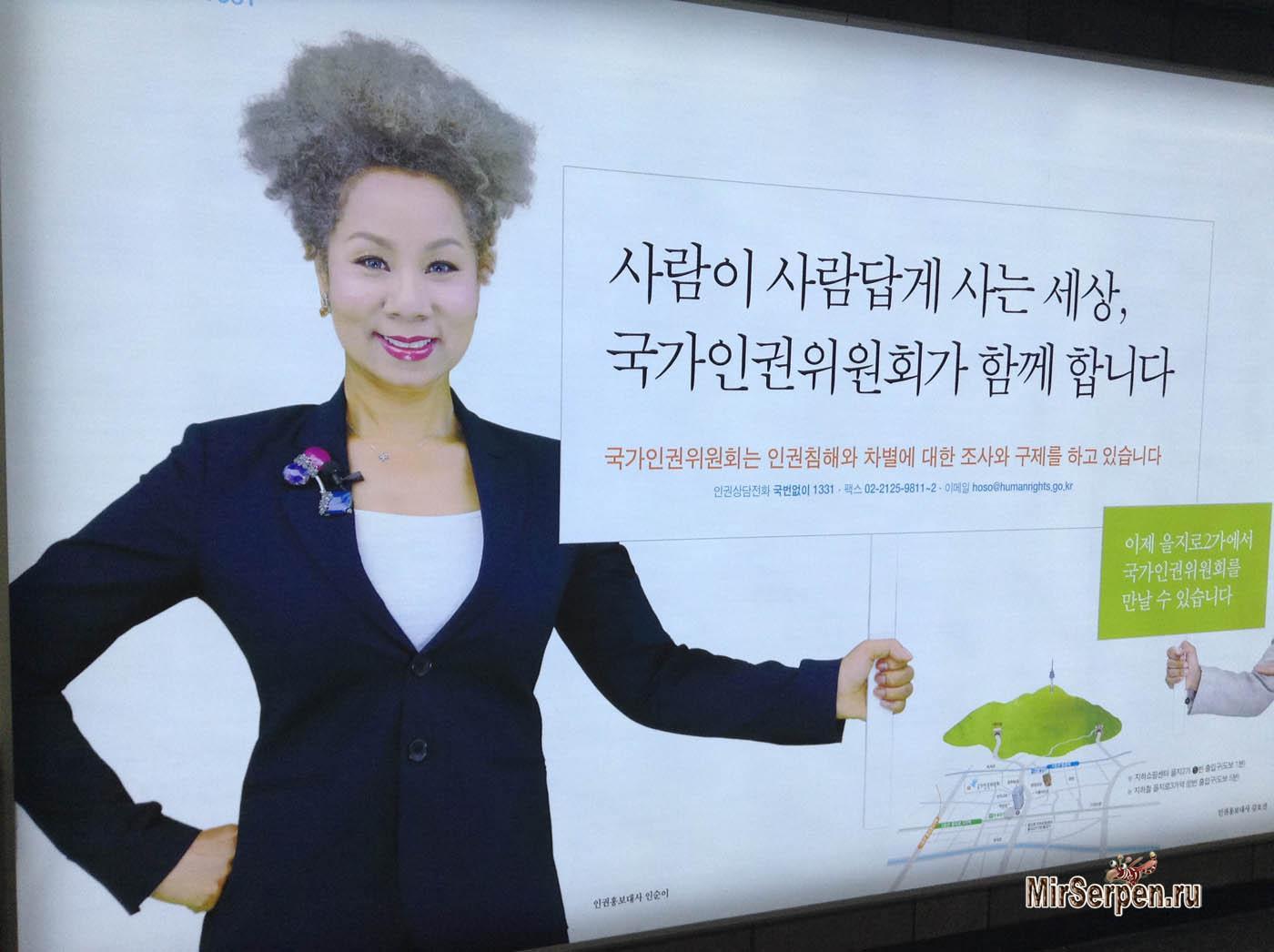 О длине волос кореянок
