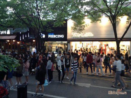 Стиль одежды в Сеуле