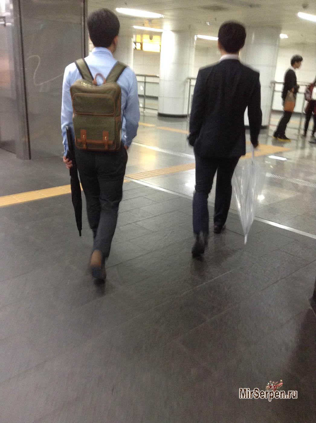 Весенне-осенний стиль одежды в Сеуле