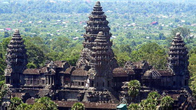 Климат и погода в провинции Сиемреап, Камбоджа