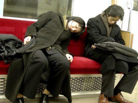 Инэмури - японская привычка спать днем