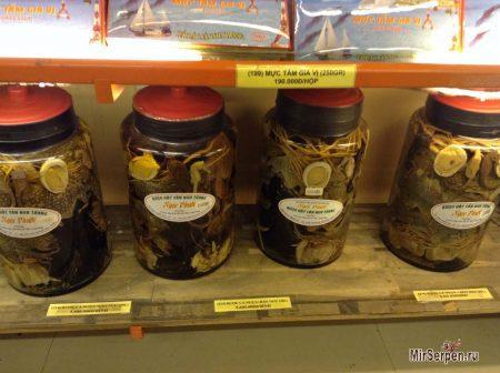 Алкоголь со змеями во Вьетнаме