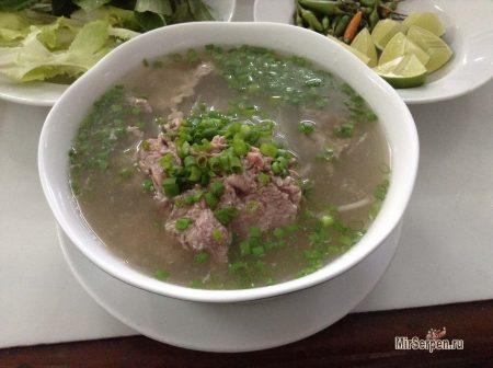 Как правильно есть вьетнамский суп Фо