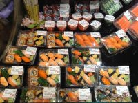 Наборы суши из гипермаркетов Таиланда
