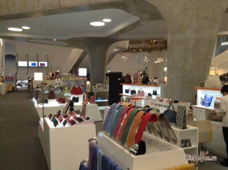 Design Shop в Dongdaemun Design Plaza в Сеуле, Южная Корея