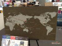 Карта ваших путешествий из Сеула
