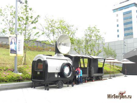 Фотографирование корейцев в Южной Корее
