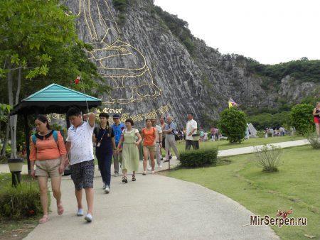 Китайские прогулки - следуя за флажком