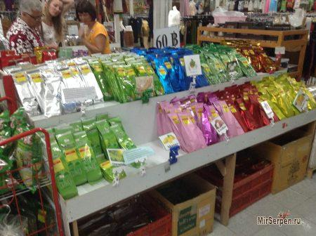 О покупке чая в Таиланде