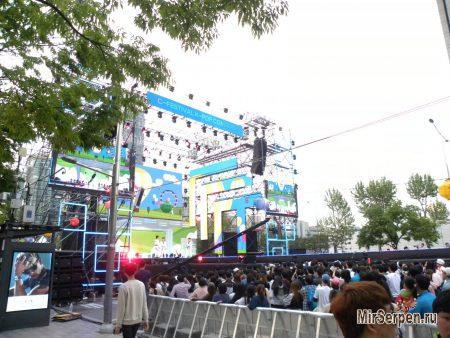 Корейские концерты - точность во всем
