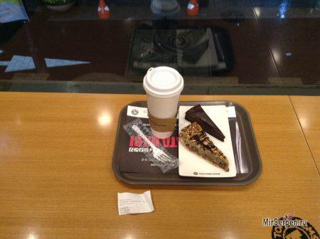 Электронный сервис в кафе Южной Кореи